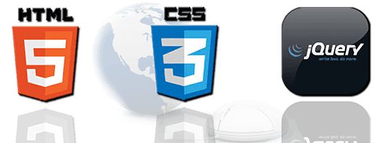HTML5 , CSS3 , Jquery